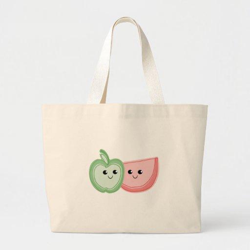 Apple y amigos lindos de la sandía