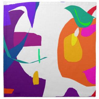 Apple y berenjena servilleta