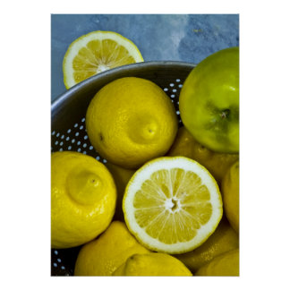 Apple y limones poster