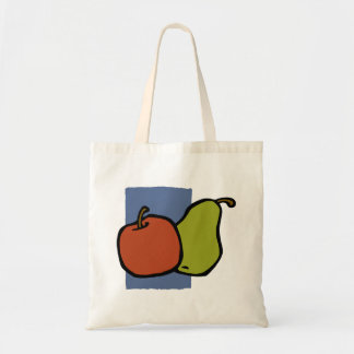 Apple y pera bolsa tela barata
