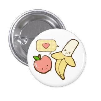 Apple y plátanos (texless) pin
