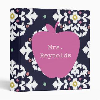 "Apple y profesor rosados de Ikat Carpeta 1"""