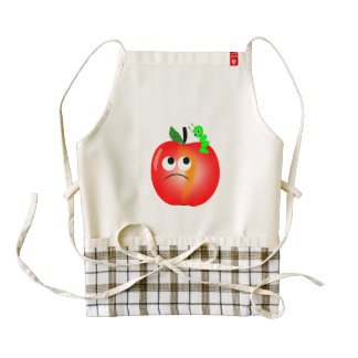Apple Zazzle HEART Apron