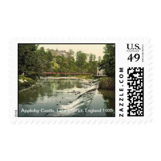 Appleby Castle, Lake District, England 1905 Postage