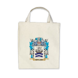 Appleby Coat Of Arms Canvas Bags