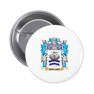 Appleby Coat Of Arms Pinback Buttons