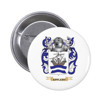 Appleby Coat of Arms Family Crest Buttons