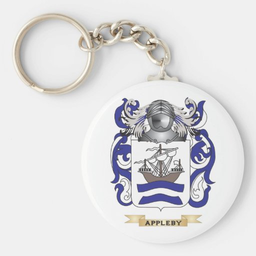 Appleby Coat of Arms (Family Crest) Key Chains