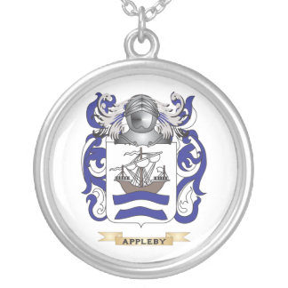 Appleby Coat of Arms Family Crest Custom Necklace