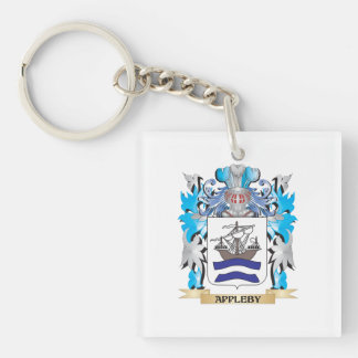 Appleby Coat Of Arms Square Acrylic Keychains