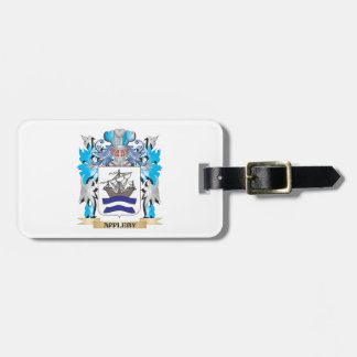 Appleby Coat Of Arms Tags For Bags