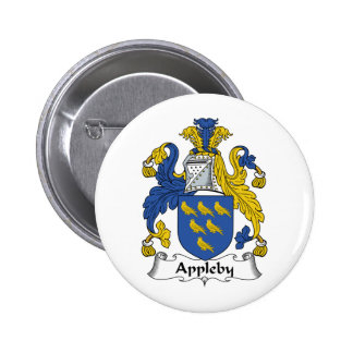 Appleby Family Crest Buttons