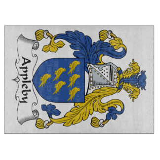 Appleby Family Crest Cutting Board