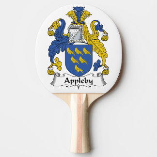 Appleby Family Crest Ping-Pong Paddle