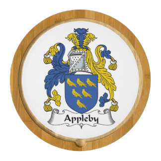 Appleby Family Crest Round Cheeseboard