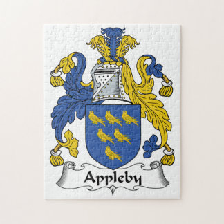 Appleby Family Crest Puzzle