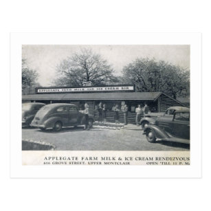 Montclair new jersey postcards zazzle applegate farms ice cream montclair nj vintage postcard negle Images