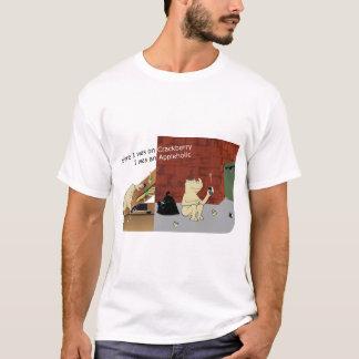 AppleholicCrackberry Light Colors Wide Image T-Shirt