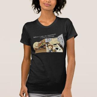 AppleholicDroidrage Dark Colors Narrow Image T-Shirt