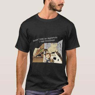 AppleholicDroidrage Dark Colors Wide Image T-Shirt