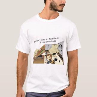 AppleholicDroidrage Light Colors Wide Image T-Shirt
