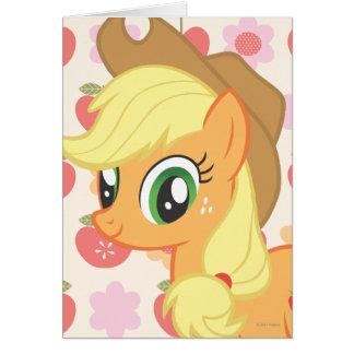 Applejack Greeting Card