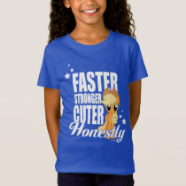 Applejack | Faster Stronger Cuter Honestly T-Shirt