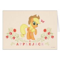 Applejack Posing Card