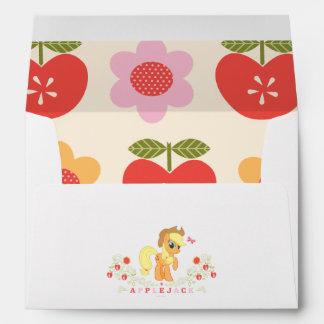 Applejack Posing Envelope