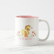 Applejack Posing Two-Tone Coffee Mug