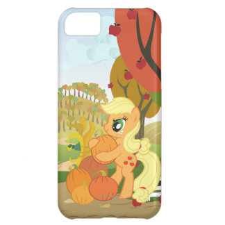 Applejack with Pumpkins iPhone 5C Cover