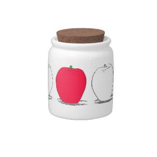 Apples#1-Candy Jar