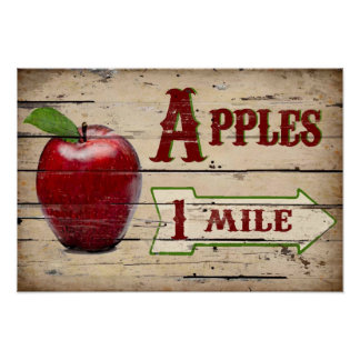 Apples 1 Mile  Poster