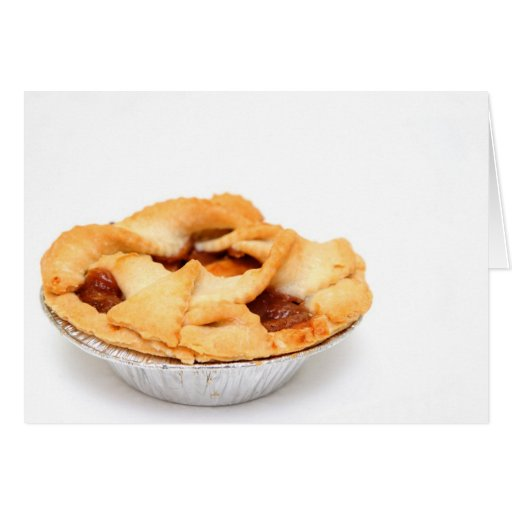 Apples And Apple Pie For One Greeting Card