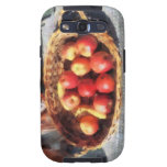 Apples and Bananas in Basket Samsung Galaxy SIII Cover