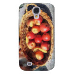 Apples and Bananas in Basket Galaxy S4 Cover