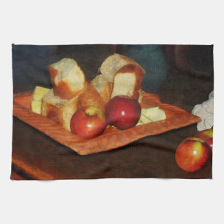 Apples and Bread Towel