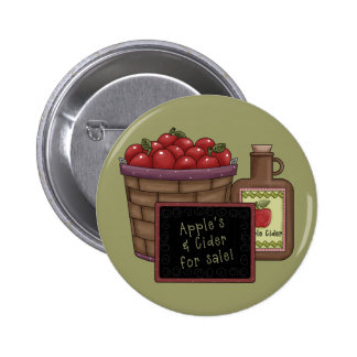 Apples and Cider Button
