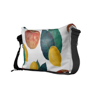 Apples And Lemons Courier Bag