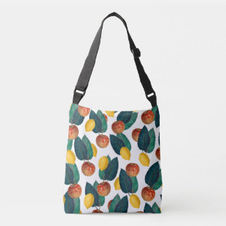 Apples And Lemons Crossbody Bag