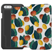 Apples And Lemons iPhone 6/6s Wallet Case