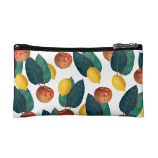 Apples And Lemons Makeup Bag