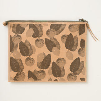 Apples And Lemons Travel Pouch