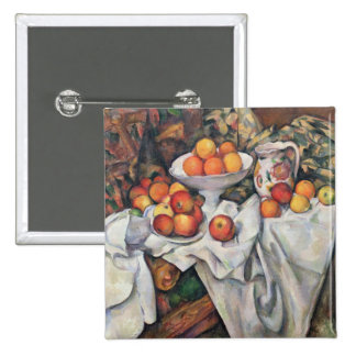 Apples and Oranges, 1895-1900 Pinback Button