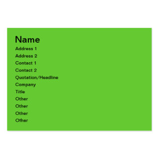 Apples and oranges large business cards (Pack of 100)