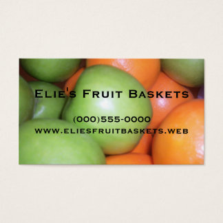 """Apples and Oranges"" Business Cards"
