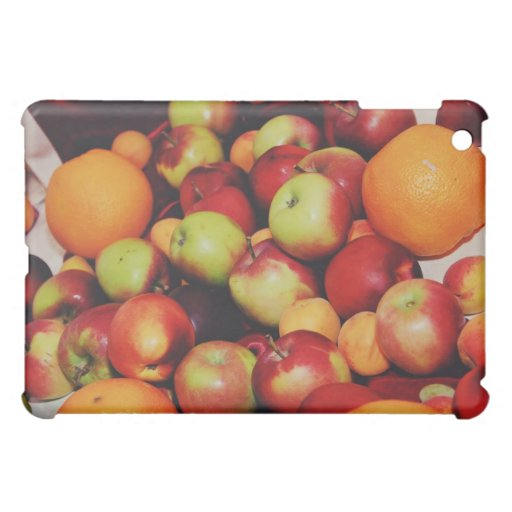 Apples and oranges case for the iPad mini