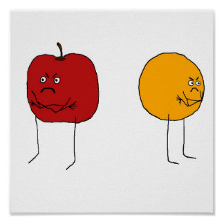 Apples and Oranges Poster