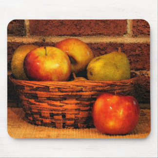 Apples and Pears Mouse Pad