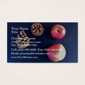 Apples and Pine Cones Business Card